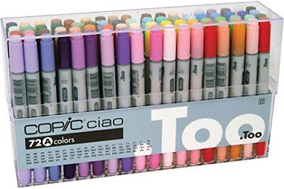 Too Copic Ciao 72 colors A set Art Marker for Design/Manga/Anime Japan F/S