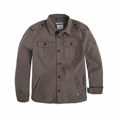Pepe Jeans London - Willy teen - Surchemise - taupe