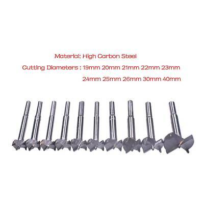 19mm-40mm Woodwork Boring Wood Hole Saw Cutter Drill Bit  Hole Opener New