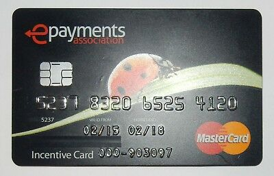 2015 MasterCard ePayments Credit Card Expired Collectibles - n398
