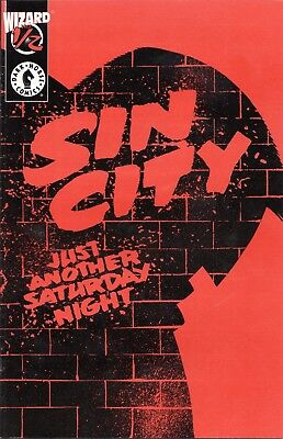 Sin City: Just Another Saturday Night  Wizard 1/2 Frank Miller Story & Art