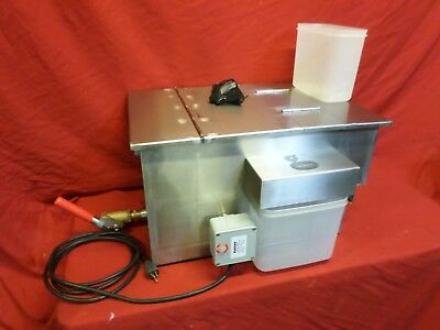 Goslyn GOS40  Grease Recovery Device & Cart, Commercial Restaurant NSF  #675