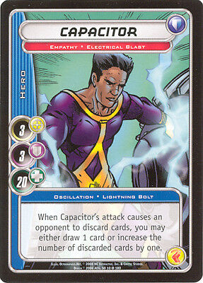 City of Heroes CCG 70-Card Tourney Deck (Capacitor)