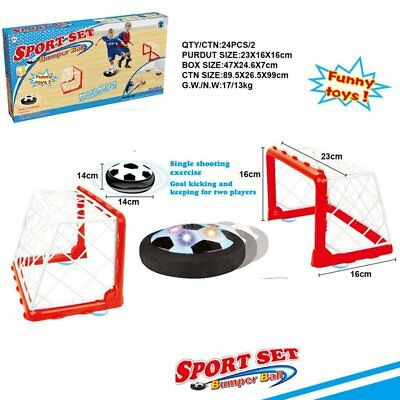 Hover Ball Air Power Set - Hover Soccer Air Ball & 2 Goals - Free Ship from USA