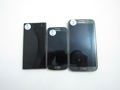 Cracked Lot of 3 Assorted Verizon Phones Check IMEI 4CR-1035