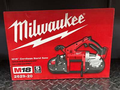 *New* Milwaukee 2629-20 18V M18 Cordless Band Saw (Tool Only)