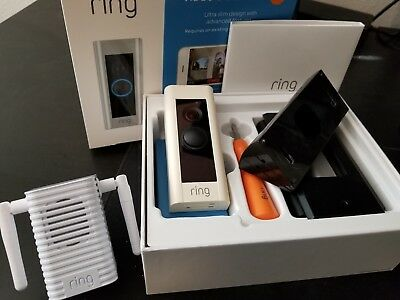 Ring Doorbell Pro with Chime Pro and Wedges