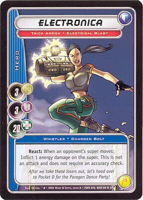 City of Heroes CCG 70-Card Tourney Deck (Electronica)