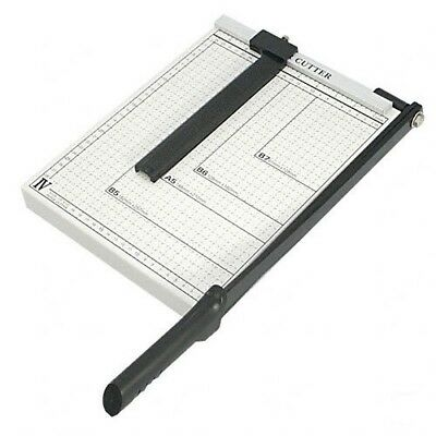 "PAPER CUTTER 12 x 10"" inch METAL BASE TRIMMER Scrap booking Guillotine Blade New"