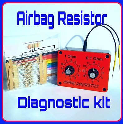 NEW AIRBAG RESISTOR TOOL Resistance   DECADE BOX Kit seat light fault emulator