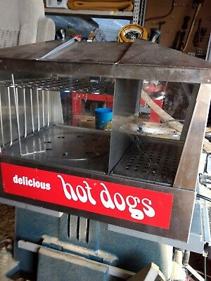 Star Commercial Hot Dog And Bun Steamer - Works!