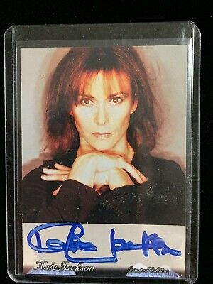 Kate Jackson Card AUTOGRAPHED Signed Charlie's Angels Scarecrow Mrs King
