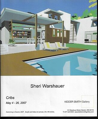 2007 Sheri Warshauer Art Swimming in Swank Gallery Exhibition Print Ad