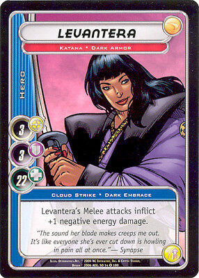 City of Heroes CCG 70-Card Tourney Deck (Levantera)