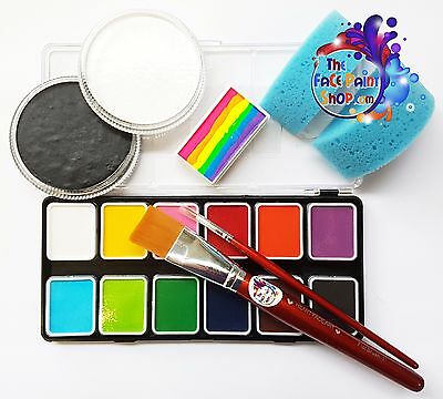 Bit Above Beginner Face Paint Kit-Diamond FX/Global Professional Face Paints
