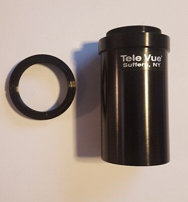 Tele Vue T Thread Camera Adapter with T ring