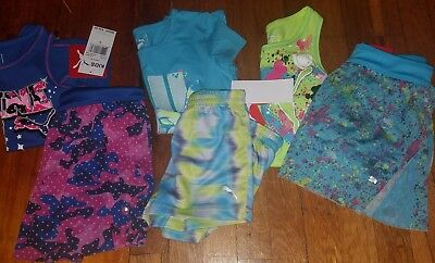 Girls size 5 lot NWT Puma 3 outfits Summer