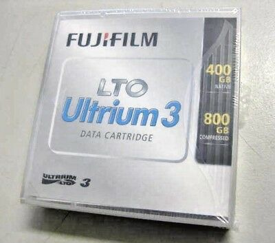 Box of 5 Fujifilm LTO Ultrium 3 Data Cartridge 400GB Native 800GB Compressed