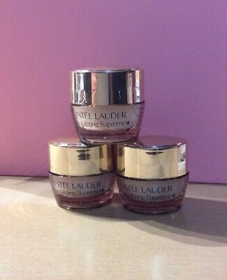 Lot Of 3 Estee Lauder Revitalizing Supreme Global Cell Power Cream .72 Oz Total