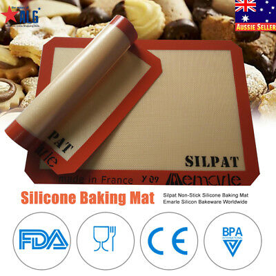 Non-Stick Silpat Silicone Baking Mat Pad Bakeware Emarle Silicon Worldwide