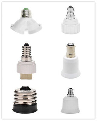 B15 E14 to E27 GU10Base LED Bulb Adapter Universal Light Converter Lamp Socket