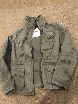 Abercrombie Kids Olive Green Jacket size Small