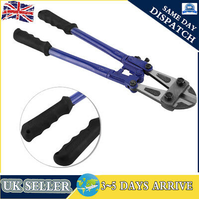 """18"""" Bolt Cutters Heavy Duty Croppers High Carbon Cable Chain Lock Cut Padlock"""