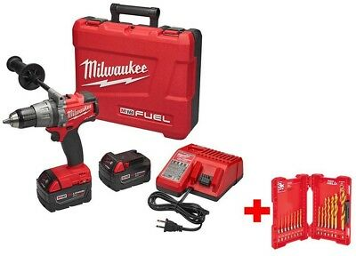 Milwaukee M18 FUEL 18-Volt Lithium-Ion Brushless Cordless 1/2 in. Hammer XC Kit
