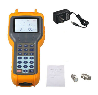USA Stock RY S110 CATV Cable TV Handle Digital Signal Level Meter DB Best Tester