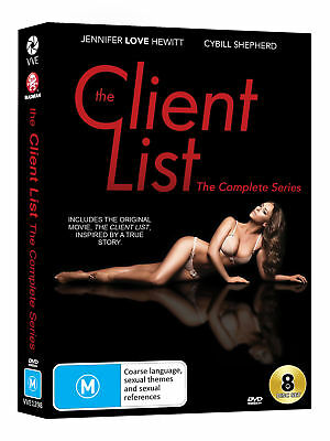 The Client List - Complete Season 1 + 2 + Movie DVD [UK Compatible] New Sealed