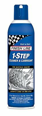 NEW Finish Line 1 Step Cleaner and Lubricant 17 Ounce FREE SHIPPING