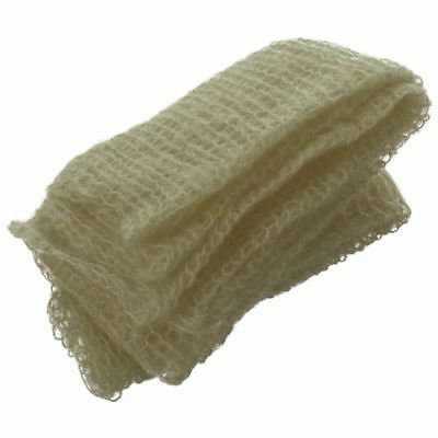 Baby Infant Stretch Mohair Crochet Wrap Newborn Baby Solid Photography gree P9T7