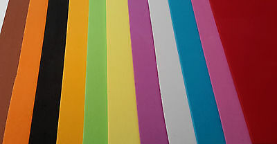 2mm Closed Cell Fly Tying Foam, available in various colours
