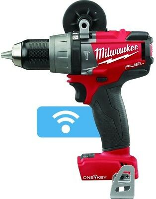 Milwaukee ONE-KEY 18-Volt Lithium-Ion Brushless 1/2 in. Hammer Drill (Tool Only)