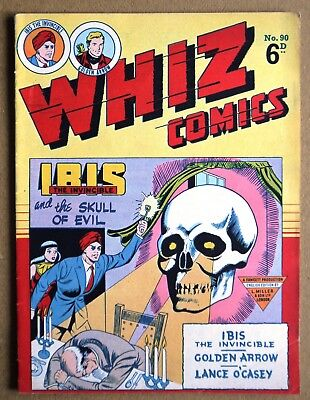 Whiz Comics Number 90 British Edition