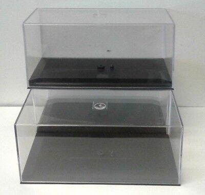 Set of 3 display cases for 1:43 scale model cars collectables jewellery figures