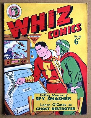 Whiz Comics Number 89 British Edition