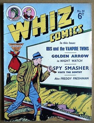 Whiz Comics Number 92 British Edition