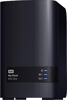 Western Digital NAS-Server 4TB My Cloud™ EX2 Ultra WDBVBZ0040JCH-EESN Business C