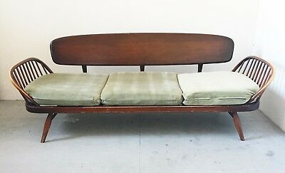 Retro Vintage Original Ercol Daybed Sofa Couch