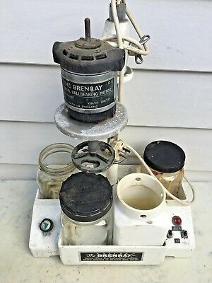 Vintage Brenray Clockmaker Cleaning Machine