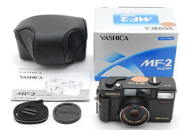 【Unused】Yashica MF-2 Super DX Point & Shoot w/38mm f/3.8 from Japan S/N 8039412
