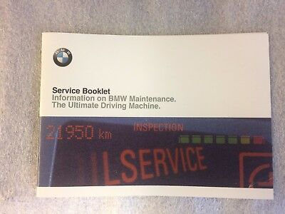 BMW Service Book All BMW 1 2 3 4 5 6 7 8 SERIES M3 M5 M6 X1 X3 X5 X6 Z3 Z4 NEW<>