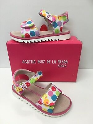 Agatha Ruiz De La Prada Girls Sandals In Pink Multi (182956)