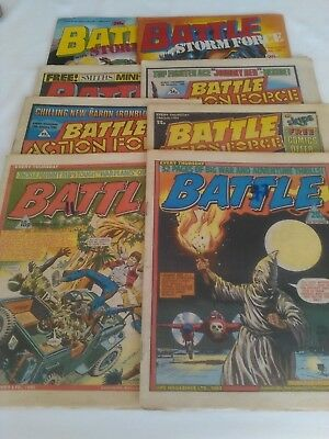 Battle/Action Force Comic (8x Issues)
