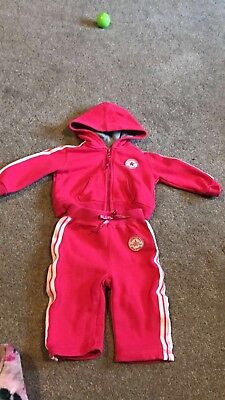 baby girl converse tracksuit