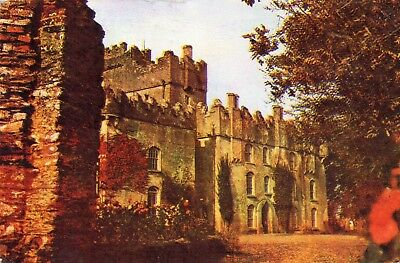 Bargy Castle Tomhaggard Wexford Ireland Postcard Posted 1968 Markievicz 3P Stamp