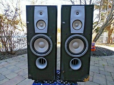 Vintage JBL Model N38  FLOOR SPEAKERS Northridge Series