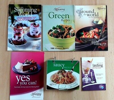 Slimming World Recipe Bundle - Summer, Saucy Secrets, Green Recipes, Yes You Can
