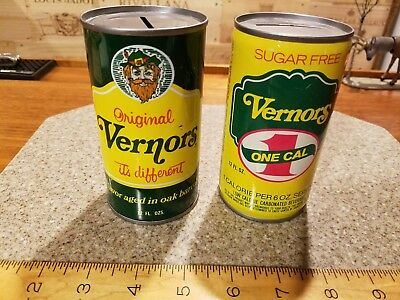 Vernors soda advertising can banks